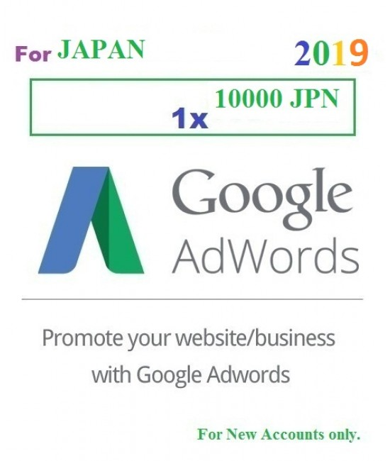1000 CZK Google Adwords coupon for Czech Republic 2019