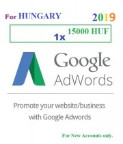 15000 HUF Google Adwords coupon for Hungary