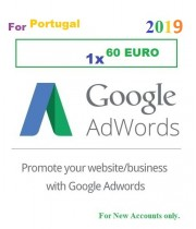 60 Euro Google Adwords coupon for Portugal 2019