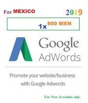600 MXN Google Adwords coupon for Mexico 2019