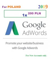 200 PLN Google Adwords coupon for Poland 2019