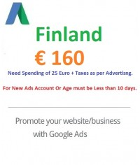 €160 EURO Google Ads coupon Finland
