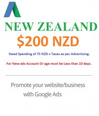$200 NZD Google Ads coupon New Zealand