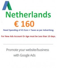 €160 EURO Google Ads coupon Netherlands