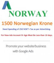 1500 NOK Google Ads coupon Norway