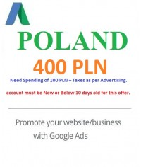 400 PLN Google Ads coupon Poland
