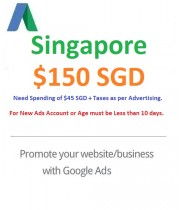 $150 SGD Google Ads coupon Singapore