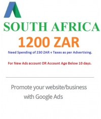 1200 ZAR Google Ads coupon South Africa