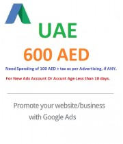 600 AED Google Ads coupon United Arab Emirates