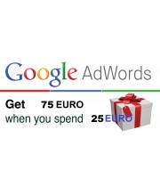10 x 75 Euro Google Adwords coupon for Greece