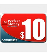 Perfect Money E-Voucher $10